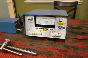 Precision Devices Surfometer Pda 3 Pdd 1 Surface Roughness Tester