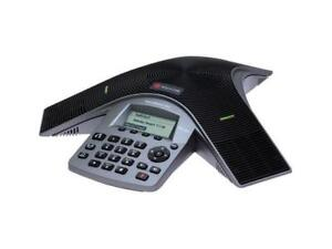 Polycom Duo 2200 19000 001 Soundstation Dual Analog voip Conference Phone New