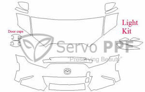 Precut 3m Pro Series Clear Bra Kit For 16 Mazda Miata Mx 5 Mx5