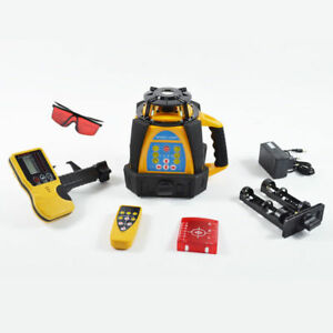 High Accuracy Hq 500m Range Self leveling Rotary Rotating Laser Level Top New