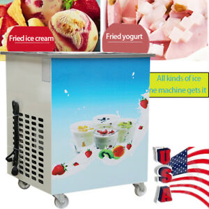 Soft Hard Ice Cream Roll Fried Ice Cream Machine Milk Yogurt Mud Ice Cream Maker