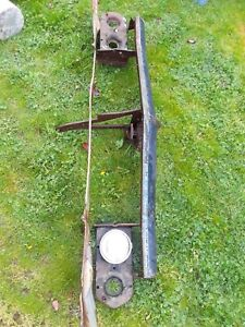 1966 Chevy Impala Header Board And Buckets And Other Parts