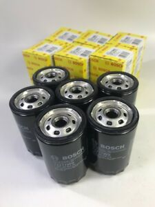 6x Oem Bosch Bmw 325 Vw Audi 2 0 1 8t Engine Oil Filter Spin On 72211ws Made Usa