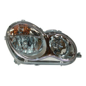 Tyc Right Headlight Assembly 2006 2007 Mercedes benz C280 Ej
