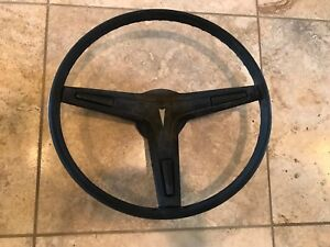1969 70 72 72 Pontiac Firebird Gto Grand Prix Black Steering Wheel Great Shape