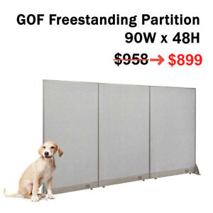 Gof special Deal 72 H X 24 W Office Panel Partition Room Divider Walldivider