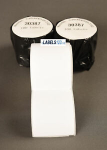 Address Shipping Thermal Labels 30387 Turbo 4xl Duo Compatible Multipurpose Roll