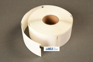 30373 Labels 400 Rat Tail Style Adhesive Multipurpose Dymo 4xl Duo White Rolls