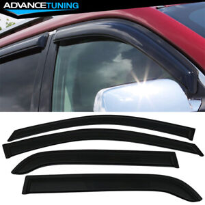Fits 05 10 Kia Sportage Acrylic Window Visors 4pc