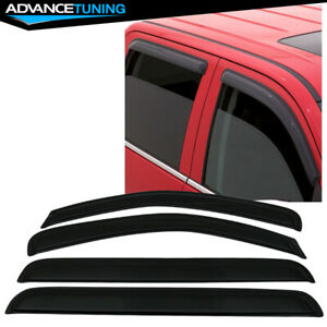 Fits 05 12 Nissan Pathfinder Acrylic Window Visors 4pc