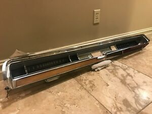1962 Pontiac Bonneville Dash With Grab Bar And Speedometer Rare Hard To Find