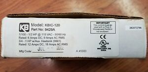 Kb Electronics Kbic 120 Dc Motor Speed Control new surplus