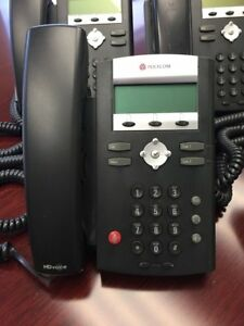 Polycom Soundpoint Ip 335 Hd Voip Phones 2200 12375 001 incl Hd Handset cord