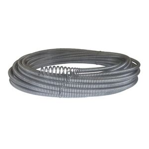 5 16 In X 50 Ft Hollow core Drain Cleaning Cable Snake Auger Plumbing Clog Tool