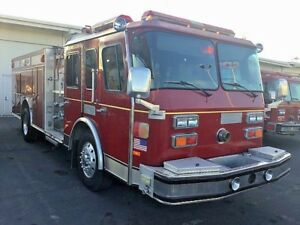 1991 Federal Hush Pumper Fire Truck Farm Ranch Safety Equipment