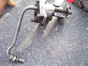 Vintage Ford 4000 Diesel Tractor 172 D Engine Oil Pump 1962