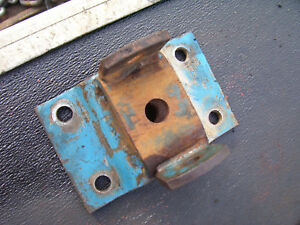 Vintage Ford 4000 Diesel Tractor draw Bar Anchor Plate 1962