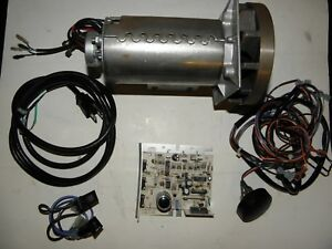 2 25hp Dc Motor Kit With Controller Speed Control switch Fuse Wiring