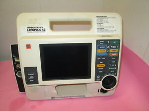 Physio Control Lifepak 12 Vlp12 02 Unit Only No Battery Printer Or Ac Adapter