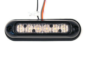 Whelen Ion Series Amber Surface Mount Super led Light Ionsma Msrp 150