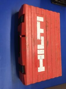 Hilti Te 6 a Cordless Rotary Hammer Drill 36 Volt case Only