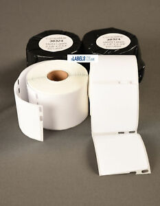 Shipping 400 Thermal Labels 30324 Compatible W Dymo Endicia Large Adhesive