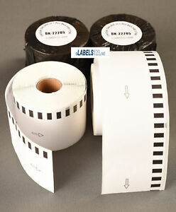 Brother Compatible Rolls 2205 Large White Continuous Feed Labels Ql 500 Ql 580n