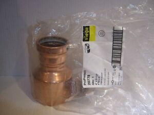 Viega Propress Fittings 20778 Fitting Reducer 4 X 2 1 2 Copper Xl In Bag