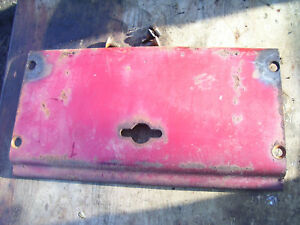 Original Ih Farmall 504 Gas Tractor front Housing Cover Plate 1962