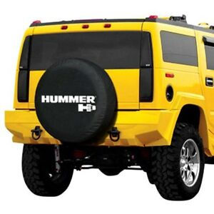For Hummer H3 06 10 Boomerang Tc h3 32 33 Black Non Reflective Spare Tire Cover