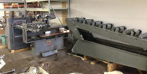 Rosback 202t Collate Stitcher Three Knife Trimmer