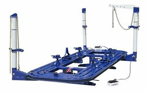 18 Feet Long Auto Body Frame Machine Everything In Pics Clamps Tools Cart