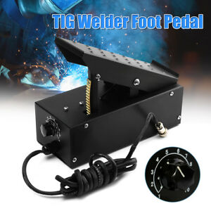 7 pin Tig Welder Foot Pedal For Tig Welding Machines Power Control Equipment