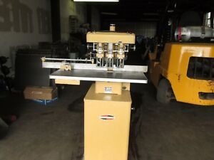 Challenge 3 Hole Paper Drill Powerfull Hydraulic 110 Volts