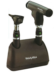 Welch Allyn Opthalomoscope Otoscope Desk Charger Set Wa 71811mps