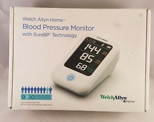 Welch Allyn Home Blood Pressure Monitor With Surebp Technology h bp100sbp