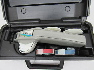 Dymo Organizer 1610 Label Maker Tape Writer With Case 3 Fonts 2 Tape