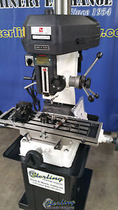 8 X 28 Brand New Acra rong Fu Milling And Drilling Machine Mdl Rf31t Smrf