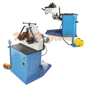 2hp Ring Band Roller Bender Bending Machine Round Pipe Square Flat 40 hv