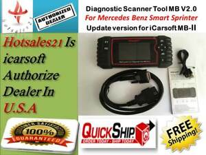 New Ggeneration Icarsoft Mb V2 0 Mercedes Benz Sprinter Diagnostic Scanner