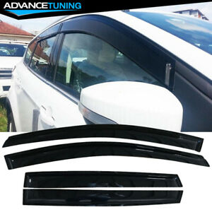Fits 13 18 Ford Escape Acrylic Window Visors 4pc