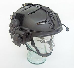 DLP Tactical fully loaded Custom LTP Bump Helmet FAST OPS-Core Crye AirFrame