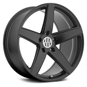 Porsche Cayenne 03 18 Victor Baden Wheels 18x10 50 5x130 Black Rims Set Of 4