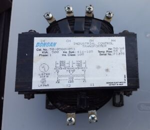 Dongan Transformer 50 0500 53 Industrial Control Single Phase