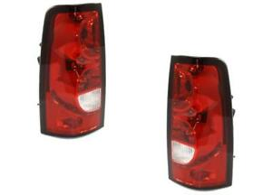 Tail Lights For Chevy Silverado 1500 2500 2004 2005 2006 2007 Classic Pair