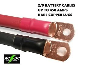 2 0 Awg 00 Gauge Copper Battery Cable Power Wire Auto Inverter Rv Solar