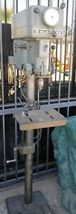 Clausing 1688 Infinitely Variable Slow Speed Drive Floor Drill Press 3 4hp 1ph