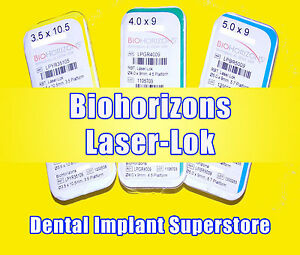 Dental Biohorizons Single Stage Laser Lok 4 X 12mm Exp 2017 09