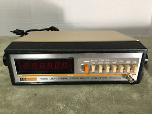Bk Precision Dynascan 1820 6 digit Universal Frequency Counter