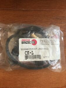 Binzel Abicor Connector Kit Lincoln Ck l New